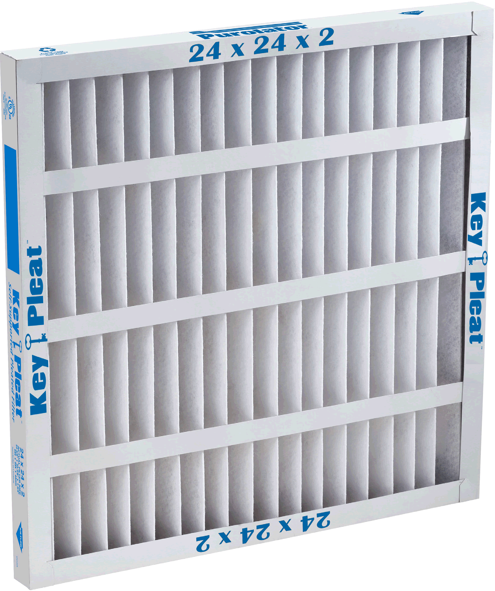 14 W x 14 H x 1 D Pack of 6 Mechanical MERV 8 Pack of 6 14 W x 14 H x 1 D Sterling Seal KP-5251079032x6 Purolator Key Pleat Extended Surface Pleated Air Filter