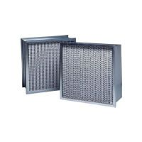 A pair of Purolator SERVA CELL high efficiency, extended surface, ASHRAE rated, pleated air filters.