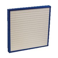 "A prime one high-efficiency, 2"" deep, mini pleated air filter."