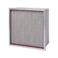 A Purolator SERVA-Cell High Temp extended surface, high efficiency, ASHRAE rated rigid air filter.